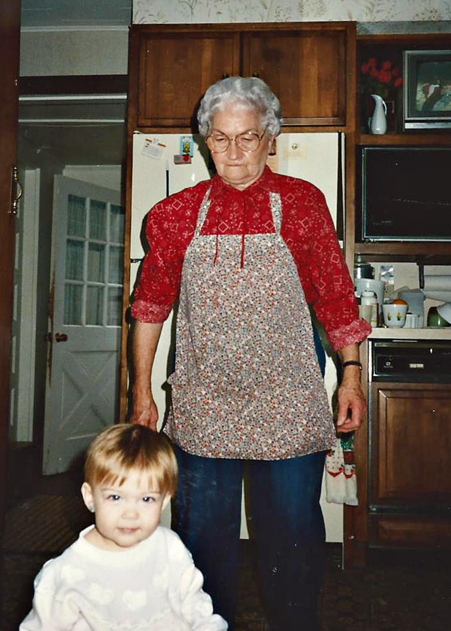 Grandma Ruby & KJ (me)